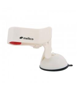 Suport Auto Smartphone / GPS Melkco Easy Clip Alb - rotire 360