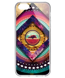 Nature Within - iPhone 5/5S Carcasa Transparenta Silicon