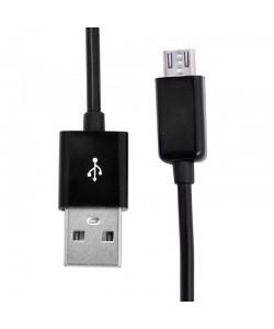 Cablu USB MicroUSB Procell Negru