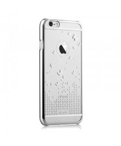 Butterfly Silver - Devia Carcasa iPhone 6/6S (rama electroplacata)