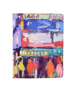 "Husa Tableta 10"" Lemontti Flip Oil Canvas"