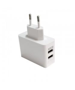 Incarcator retea Dual USB Procell (output USB 2.1A)