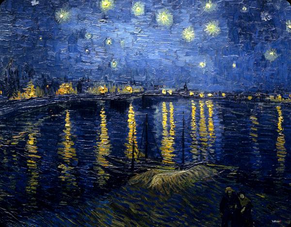 Van Gogh - Starryrhone