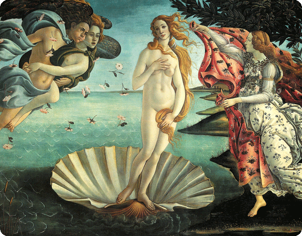 Botticelli - La nascita di Venere