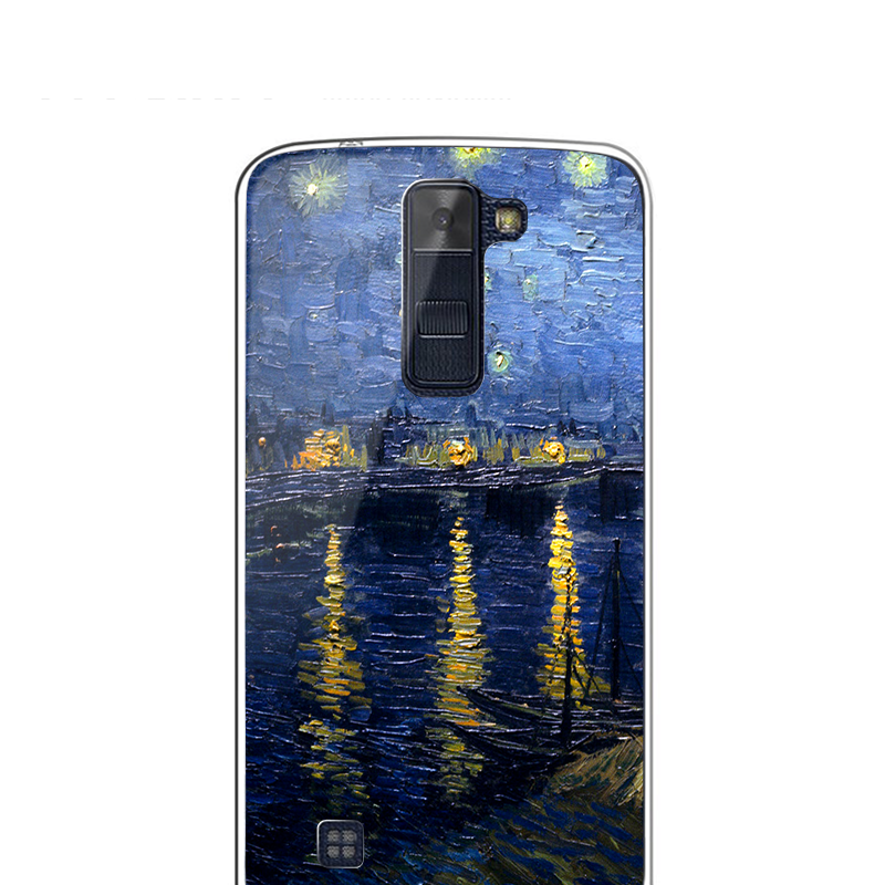 LG K8 Carcasa Transparenta Silicon