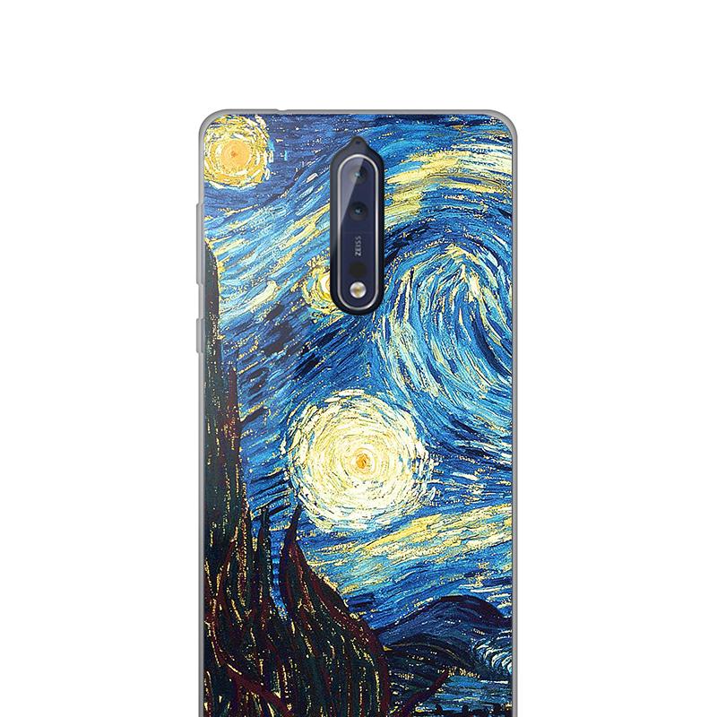 Carcasa Silicon Nokia 8
