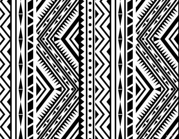 Tribal Black & White