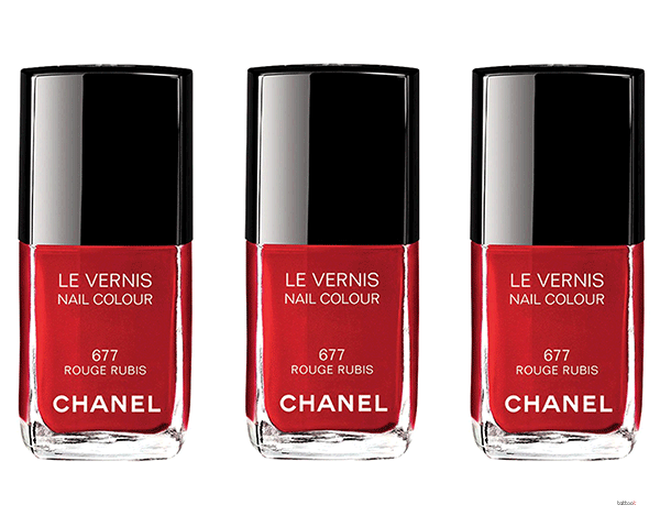 Chanel Rouge Rubis Nail Polish