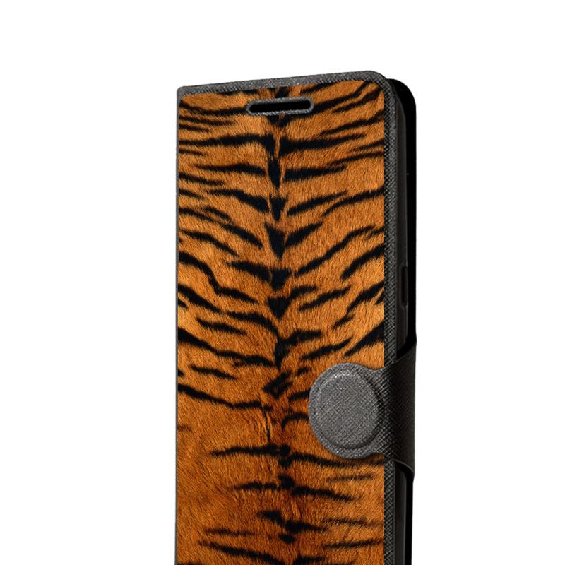 Galaxy S6 Husa Book Neagra - Piele