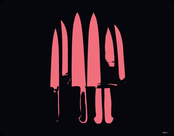 Pink Knife