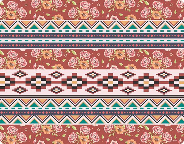 Floral Aztec