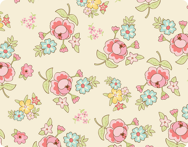 Pastel Flowers Wallpaper