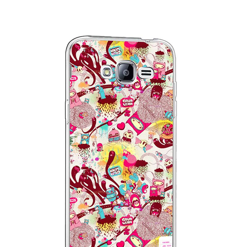 Carcasa Silicon Galaxy J3 2016