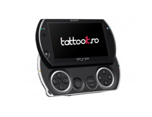 PSP Go Skin