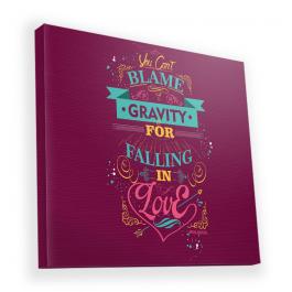 Falling in Love - Canvas Art 90x90
