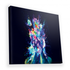 Explosive Thoughts - Canvas Art 90x90