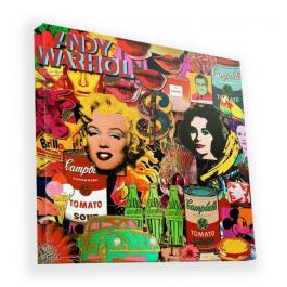 Pop Art Mix - Canvas Art 90x90