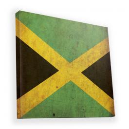 Jamaica - Canvas Art 90x90