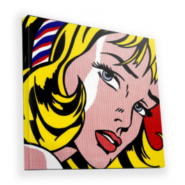 Blonde Girl - Canvas Art 45x45