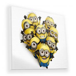 Minions Crew - Canvas Art 45x45