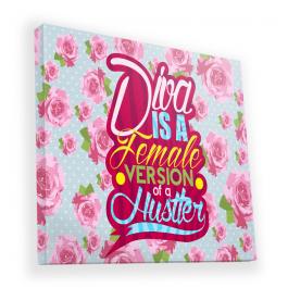 Diva - Canvas Art 90x90