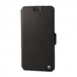 Lemontti Elegant - Nokia 7 Plus Husa Book Neagra