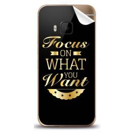 Focus - HTC One M9 Skin