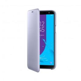 Samsung Wallet Cover Lavender - Samsung Galaxy J6 (2018) Husa Book Violet