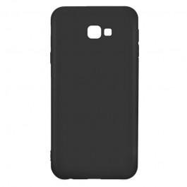 Procell Silky - Samsung Galaxy J4 Plus Carcasa Silicon Negru