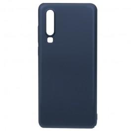 Just Must Uvo Navy - Huawei P30 Carcasa Plastic (material fin la atingere, slim fit)