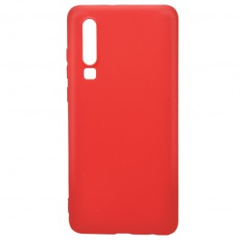 Just Must Candy Red - Huawei P30 Carcasa Silicon