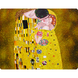 Gustav Klimt - The Kiss - iPhone 6 Husa Book Alba Piele Eco