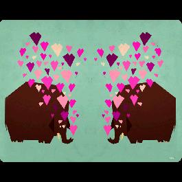 Elephant Love - Skin Telefon