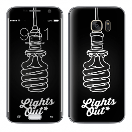 Lights Out - Samsung Galaxy S7 Skin