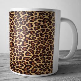 Cana personalizata - Leopard Print