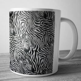 Cana personalizata - Zebra Pattern