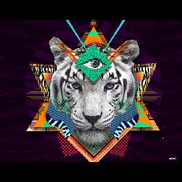 Eyes of the Tiger - Skin Telefon