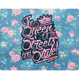 Queen of the Streets - Floral Blue - Skin Telefon