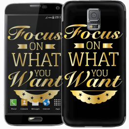 Focus - Samsung Galaxy S5 Skin