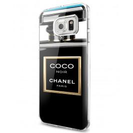 Coco Noir Perfume - Samsung Galaxy S7 Edge Carcasa Silicon