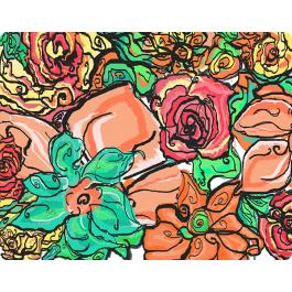 Floral - Skin Telefon