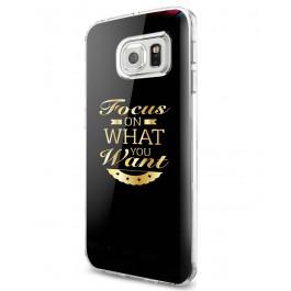 Focus - Samsung Galaxy S7 Edge Carcasa Silicon