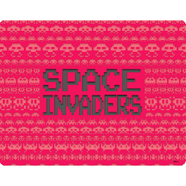 Space Invaders Red - iPhone 6 Skin