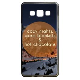 Cozy Nights - Samsung Galaxy A5 Carcasa Silicon
