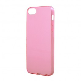 Naked Light Pink - Devia iPhone 5/5S/SE Carcasa Silicon (0.5mm)
