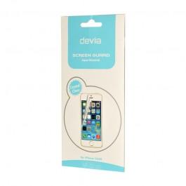 Folie Devia Original Pet Black - iPhone 5/5S/SE (1 fata clear si 1 spate opac)