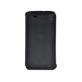 Just Must Origin Black - HTC Desire 828 Husa Book Neagra