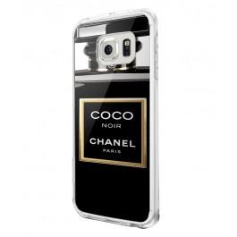 Coco Noir Perfume - Samsung Galaxy S6 Carcasa Silicon