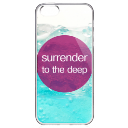 Deep - iPhone 5/5S Carcasa Transparenta Silicon