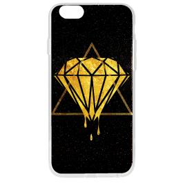 Diamond - iPhone 6 Plus Carcasa Transparenta Silicon